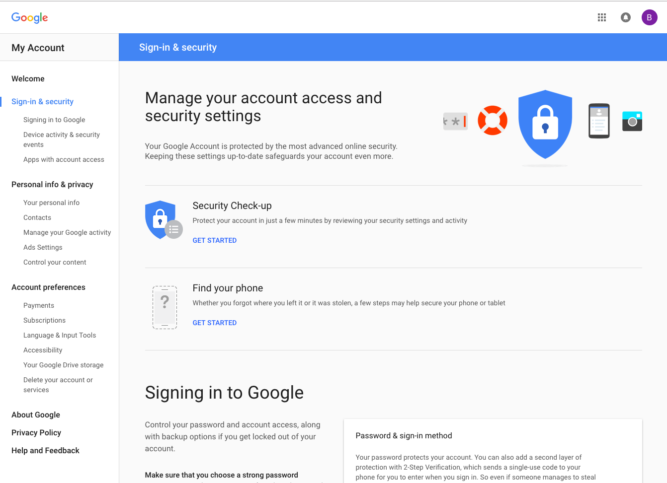 how to delete a google account from my computer