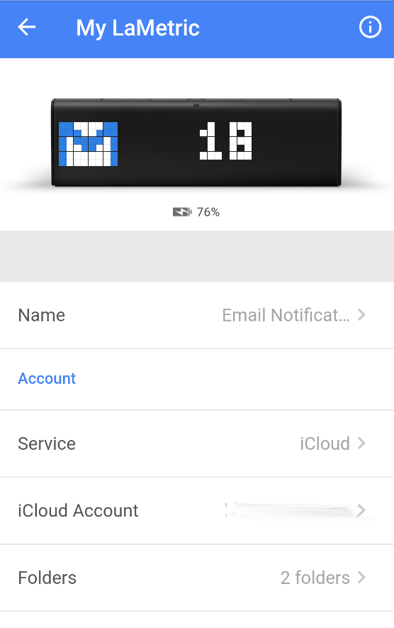 Step by step guide for Mail Notifications app (iCloud) : Support