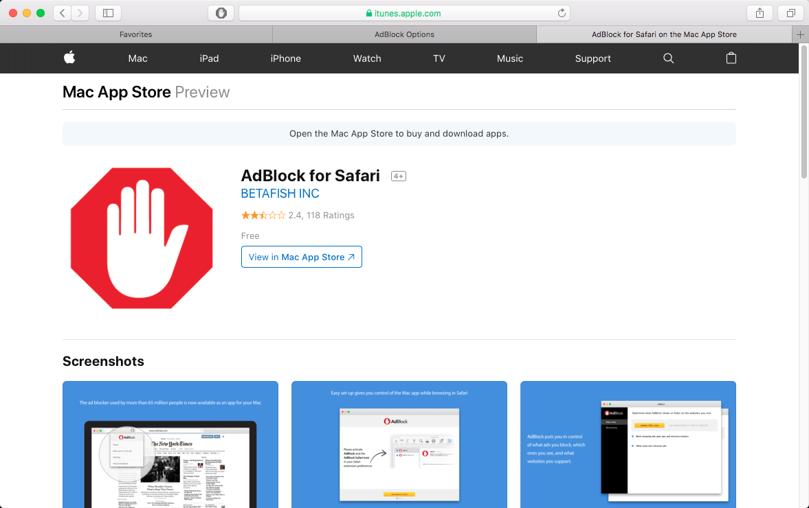 Getting started with the AdBlock for Safari app : AdBlock Help