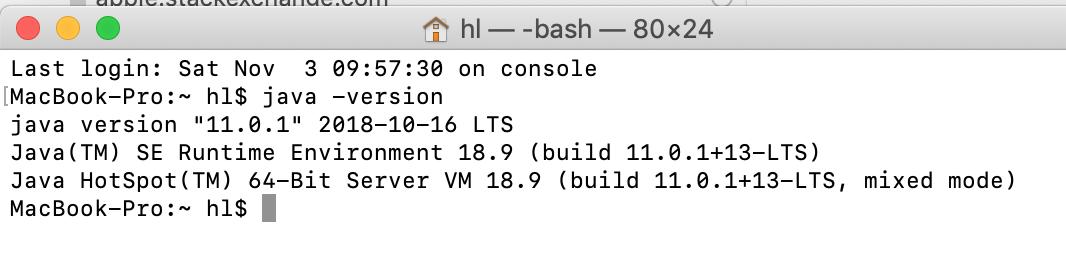 install java on mac via terminal