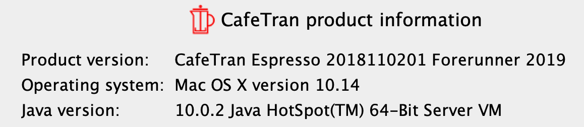 How to install Java on macOS 10 14 Mojave? : CafeTran