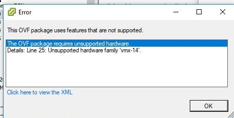 How to fix issues importing SimpleRisk in VMWare products :