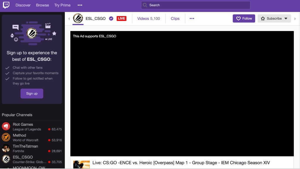 Does AdBlock block ads on Twitch tv? : AdBlock Help