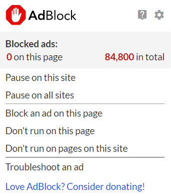 A website is asking me to disable AdBlock : AdBlock Help