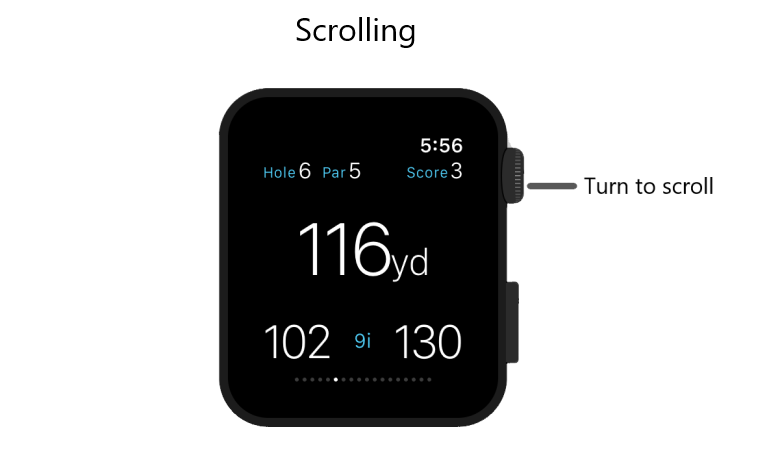 Golf Pad Apple Watch User Guide : Improve Your Golf Game