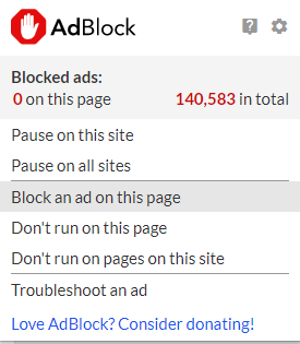 Troubleshooting unblocked ads : AdBlock Help