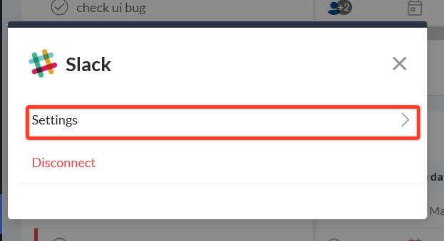 update notifications on managing tasks
