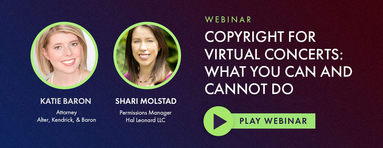 Watch Copyright for Virtual Concerts: What You Can and Cannot Do