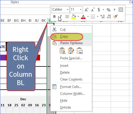 Copy Column BL