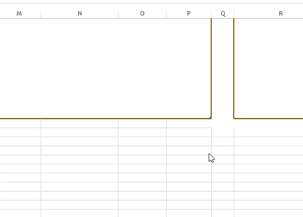 Project Planner (Advanced) Excel Template - Expanding Projects