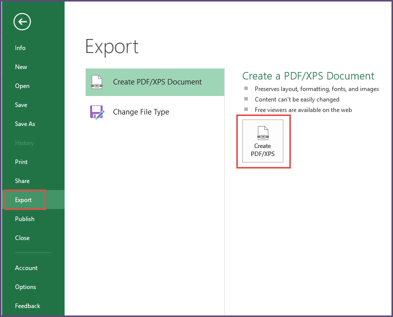 Export Invoice to PDF
