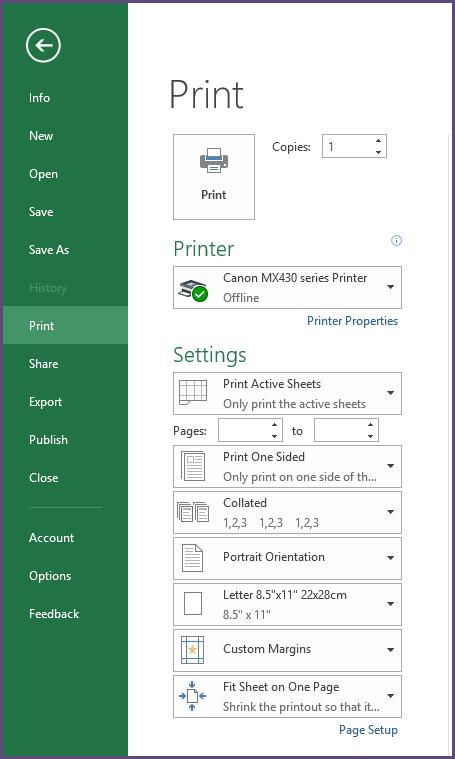 Printing Invoice