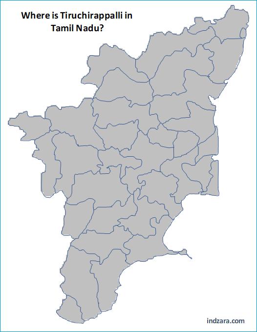 Find a District - Where is Tiruchirappalli in Tamil Nadu