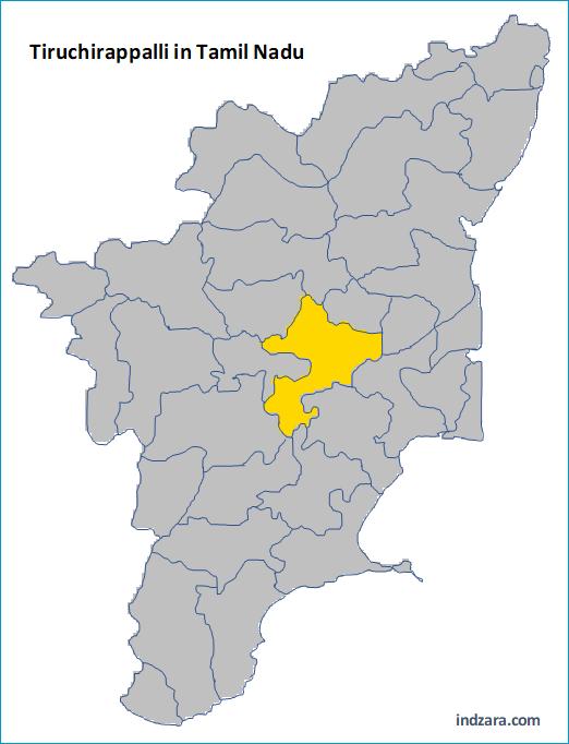 Find a District - Tamil Nadu