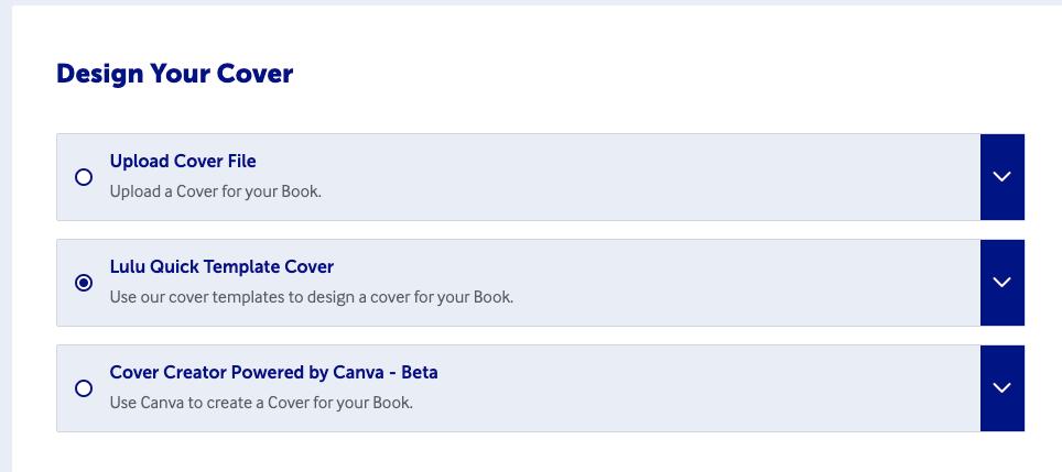 Lulu's cover options
