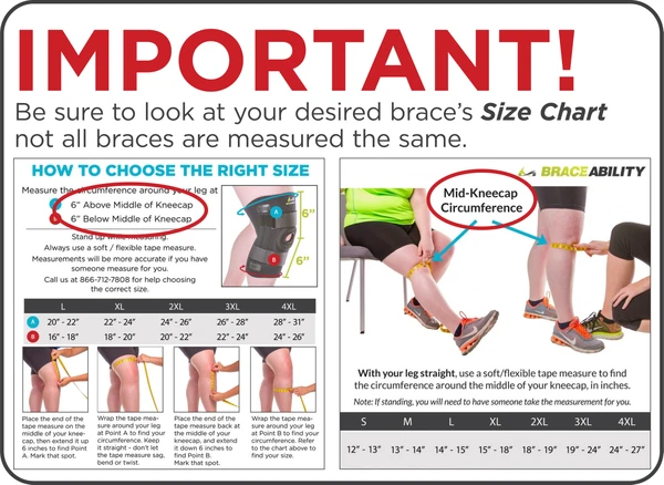make sure you look at your brace's specific sizing chart to know where to measure