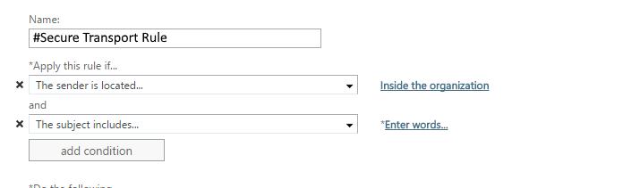 DeliverySlip Crypto-Gateway Transportl Rule Step 3