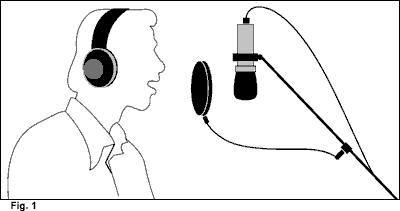 Illustration of Recording vocals