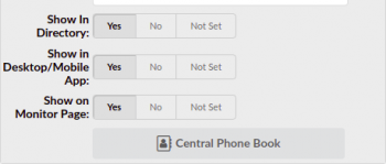 Personal phonebook upload
