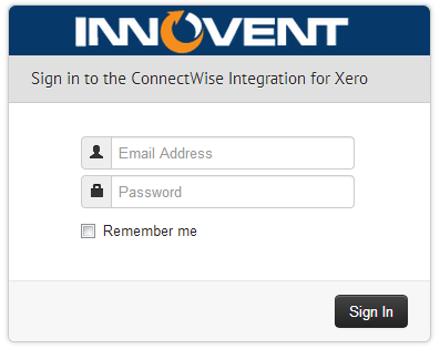 Logging into the Integration Portal : Innovent Support