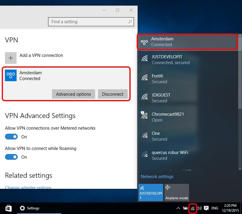 Windows 10 vpn no connection