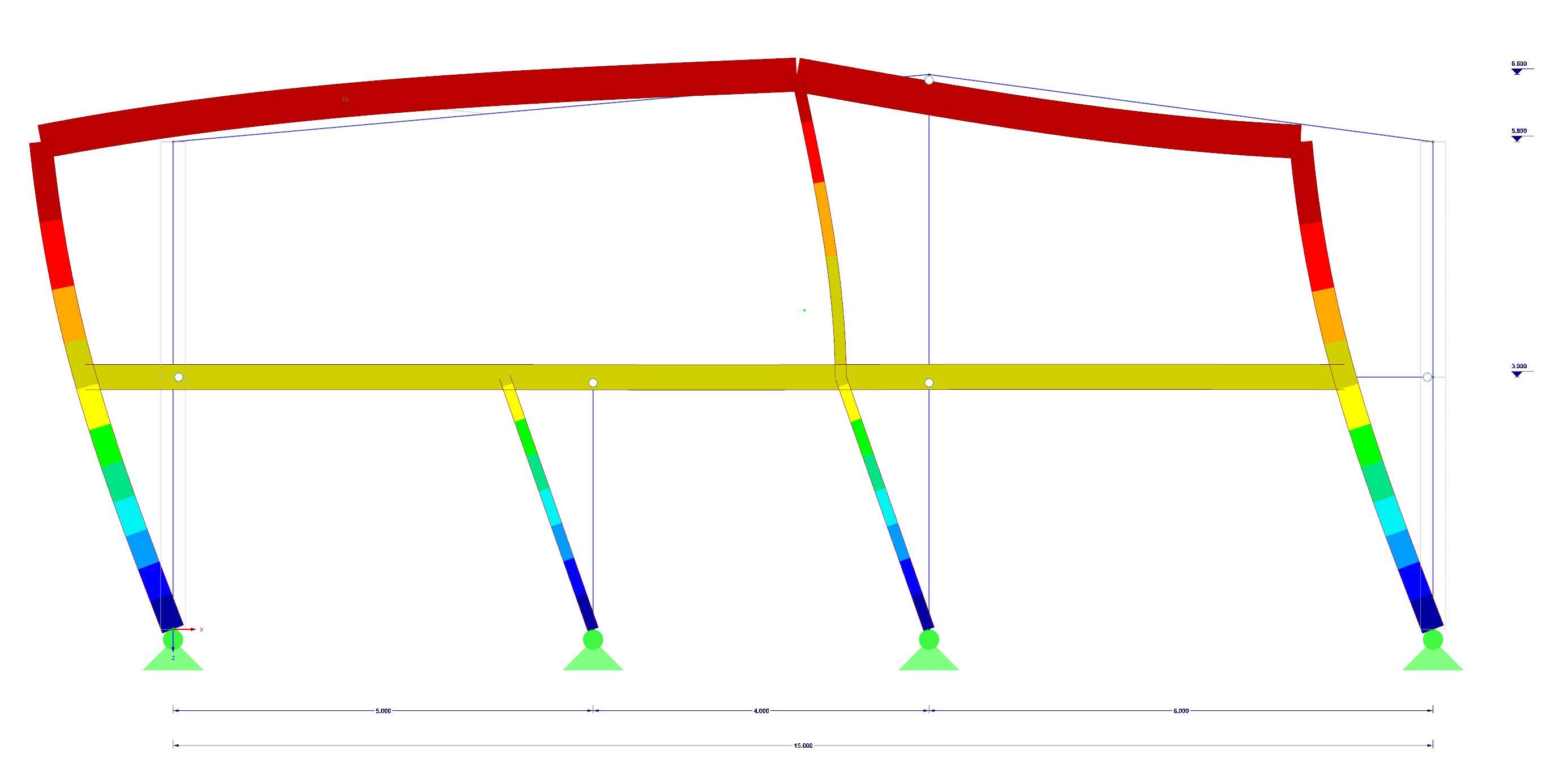 Kniklengtes berekenen met RF-STABILITY en RFEM rekensoftware