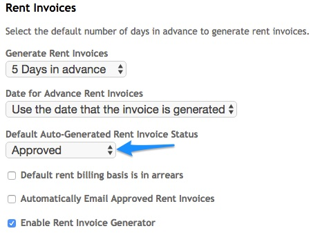 Conditions Required For Automatic Emailing Of Rent Invoices Re - Rent invoice generator