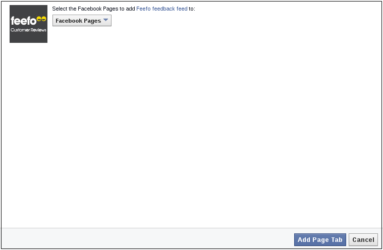 Facebook Reviews Tab | Feefo Support Portal