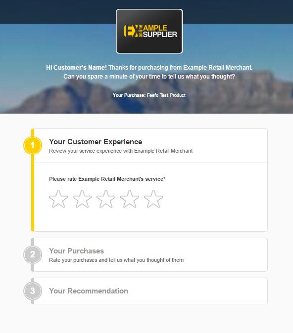 Leaving Feedback Feefo Support Portal