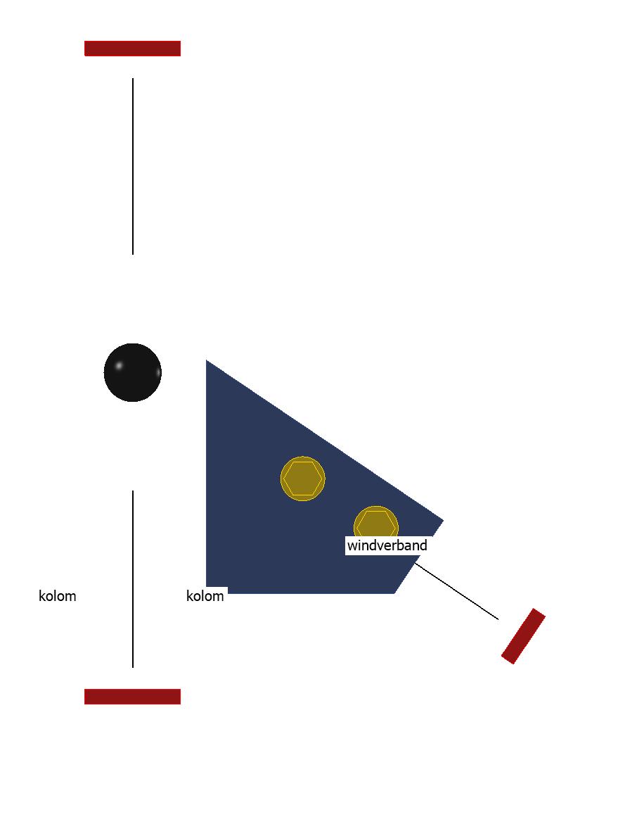juiste knoopaanzicht in draadmodel in rekenprogramma IDEA
