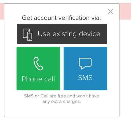 2FA Mobile App : Support