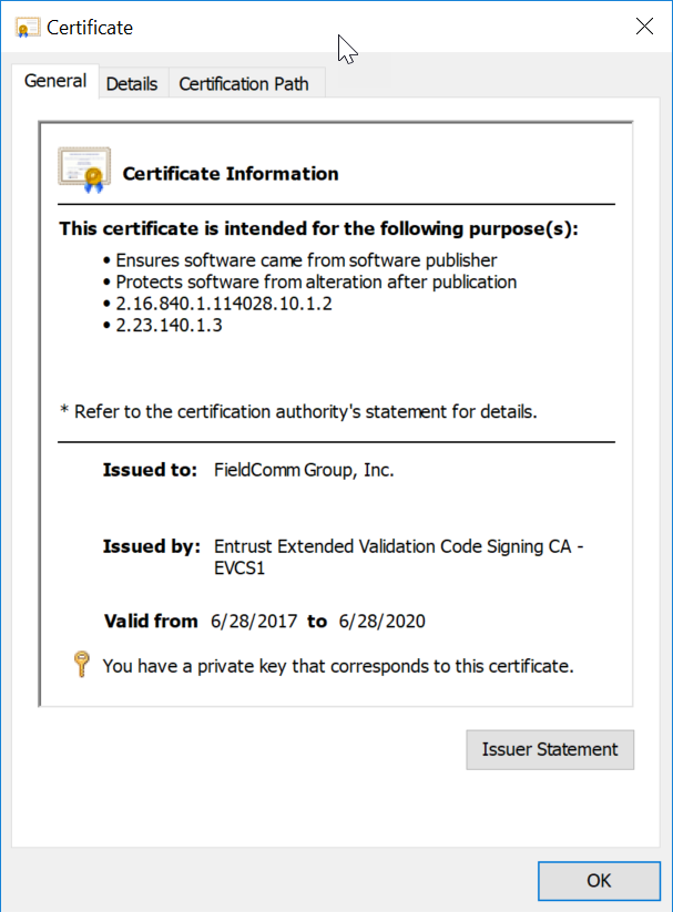 How To Sign An Fdi Device Package Fieldcomm Group Support Portal