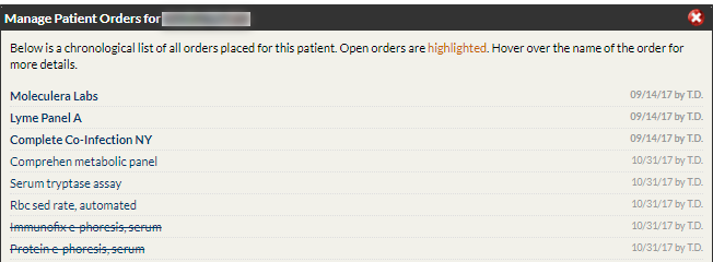 Re-Open Order that was Removed/ Marked as Abandoned : Online
