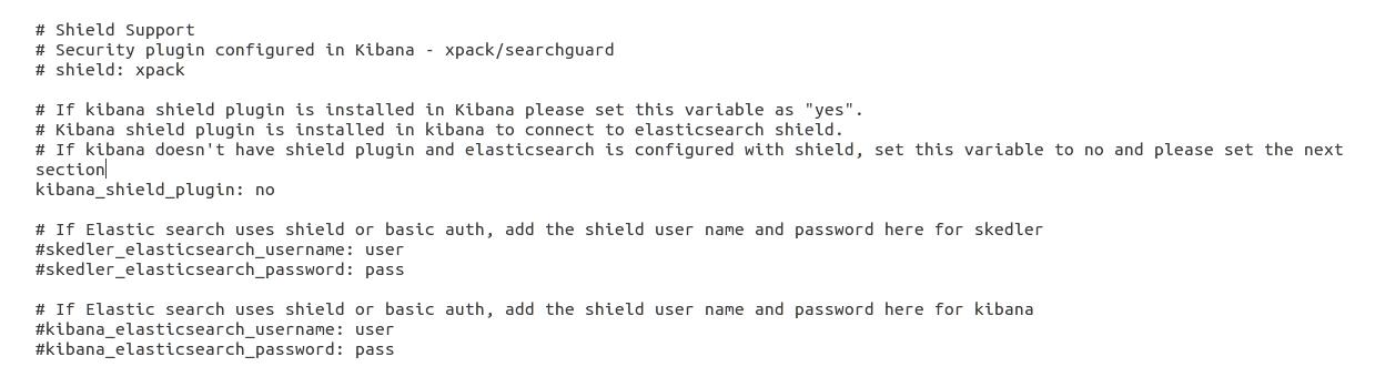 Skedler Reports-Xpack/Search Guard Kibana plugin