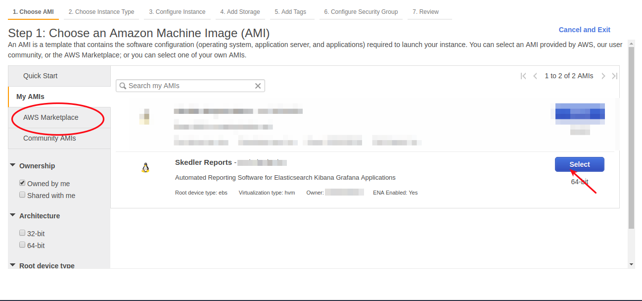 Step by Step Guide to launch Skedler Reports Ami-in-Aws