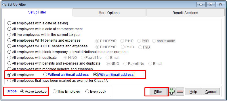 Emailing Employees : Personal Audit Systems Ltd