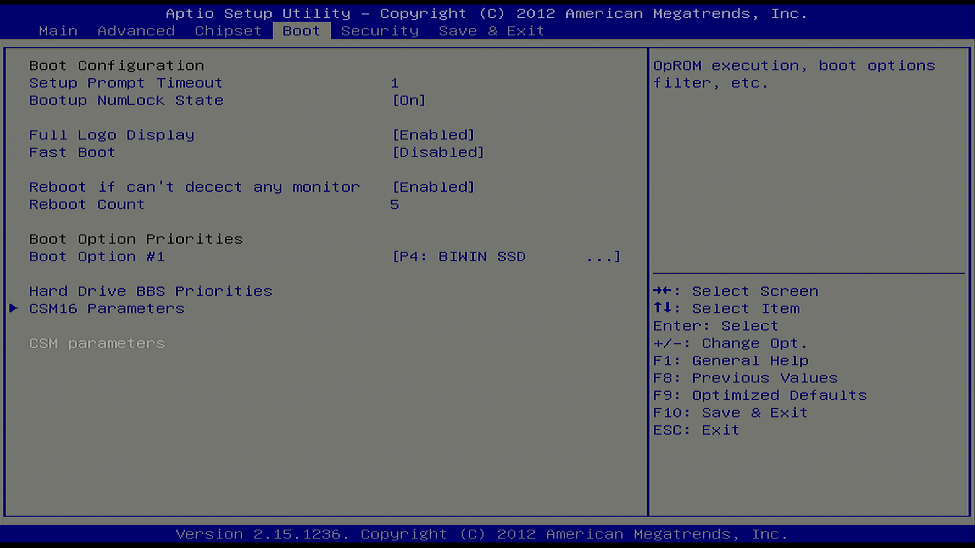 OPS] How to Enable PXE Option in BIOS : Newline Interactive