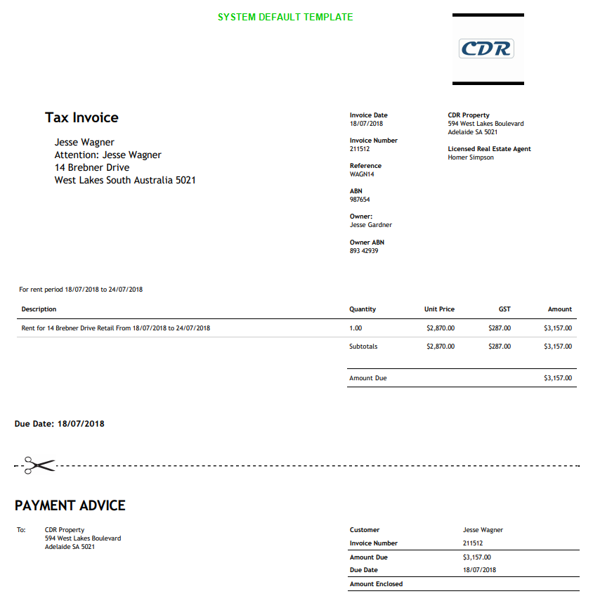 Invoice Templates Re Leased Software