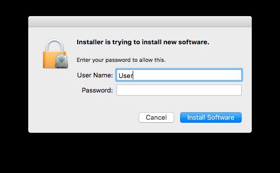 Mac login