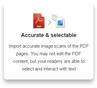 3 Modes for importing PDF's : Kotobee