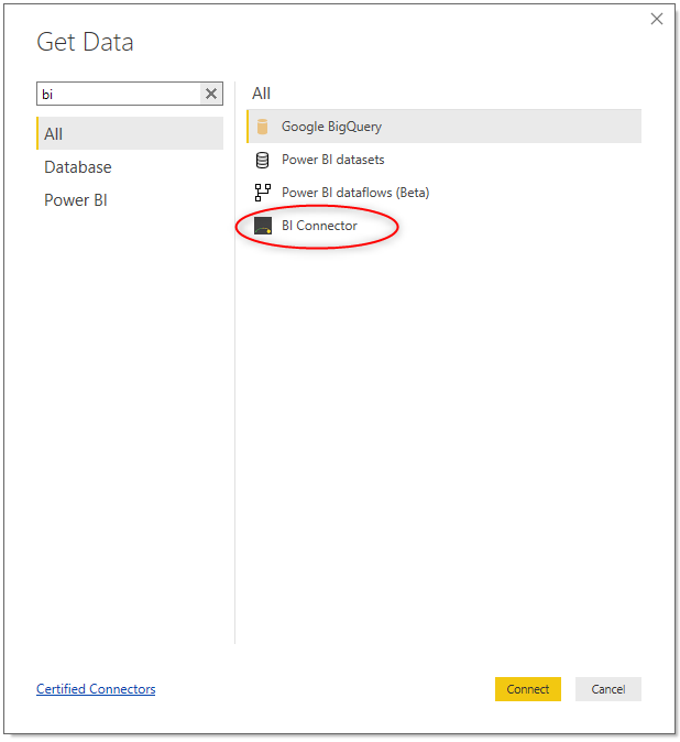 Connect Power BI Desktop to OBIEE Reports using Direct Query