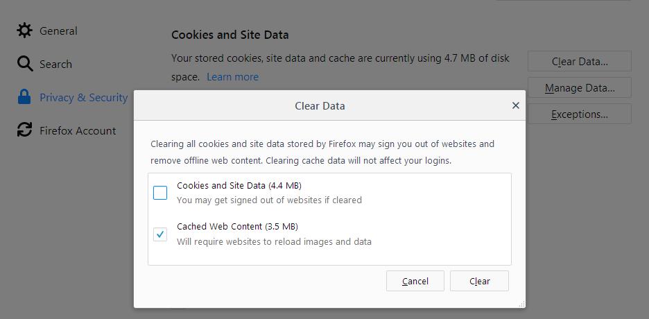 Fx60Cookies&SiteData-ClearCache