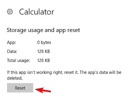 Windows 10 Calculator opens then closes