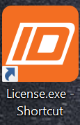 license.exe installeren IDEA statica