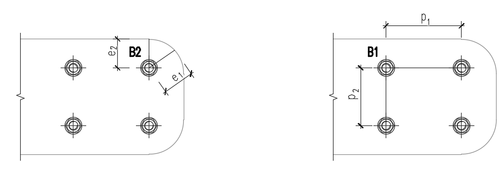 tussenafstanden en randafstanden in IDEA versie 20.1