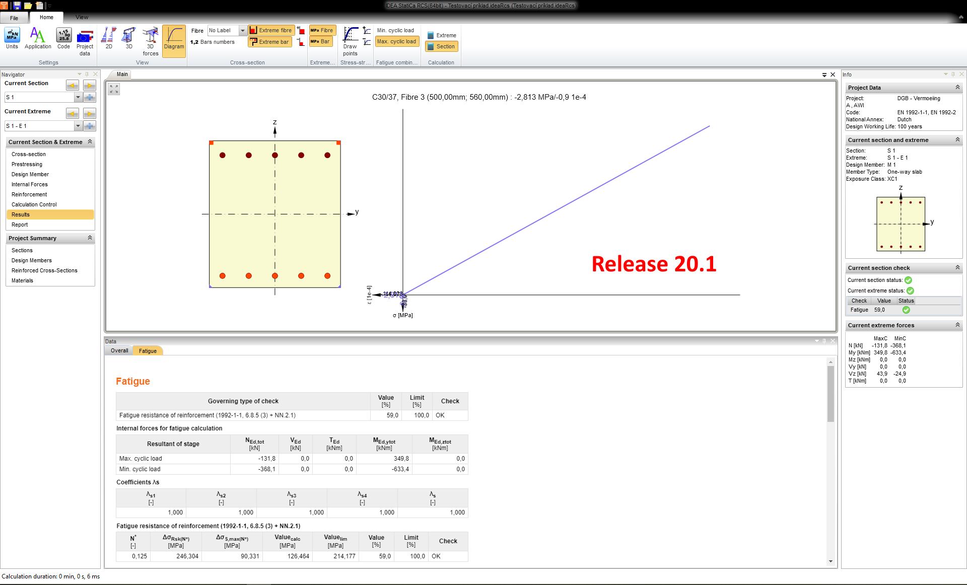 Vermoeidheidscontrole in IDEA RCS 20.1
