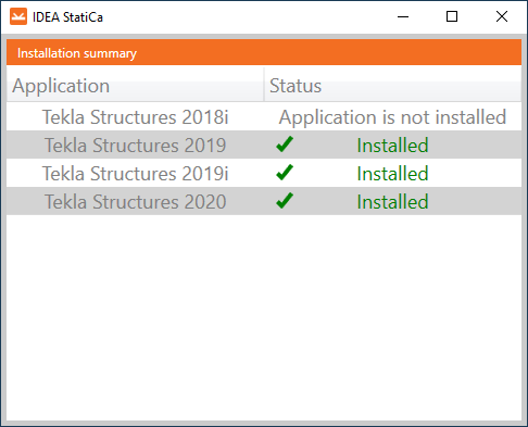Plug in Checkbot Tekla Structures IDEA Connection