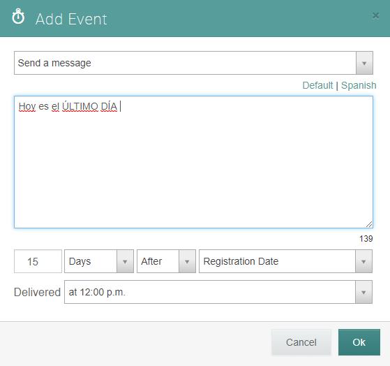 adding translation to event message
