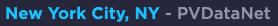 New York City, NY - PVDataNet