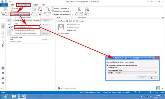 Outlook 2010 Download Address Book